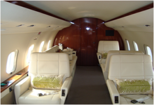 CL 604 Interior