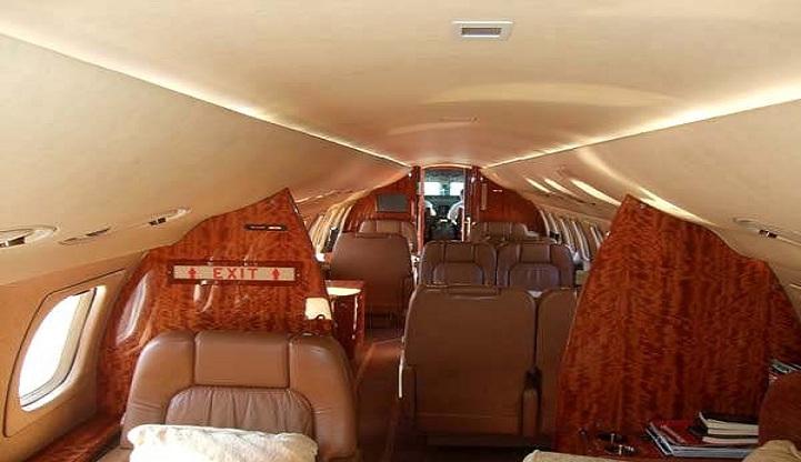 Legacy 650 Interior 2